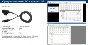 Adapter USB do NP15/NP15B